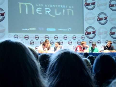 Comic Con Paris 2011  Merlin panel 2/07/11