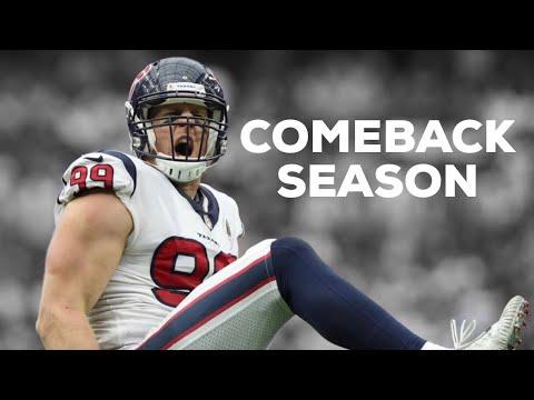 JJ Watt Comeback Season    2018 Highlights