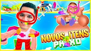 COMPRAMOS Novas Roupas  de FÉRIAS no PKXD - Familia MC Divertida Games