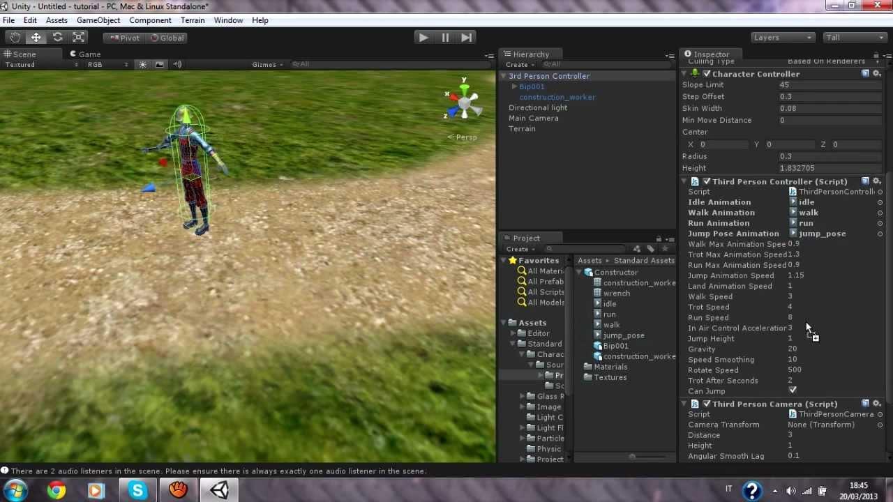 Come creare un videogioco con unity 3d youtube for Programmi architettura 3d gratis