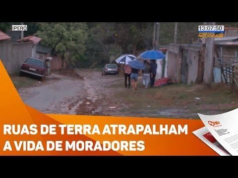 Ruas de terra atrapalham a vida de moradores - TV SOROCABA/SBT