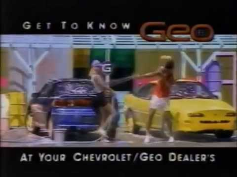 Chevy Geo Getting to Know You commercial 1992