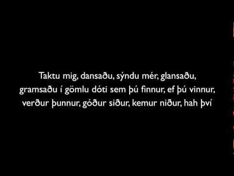 Reykjavík-Sykur Texti (HD)