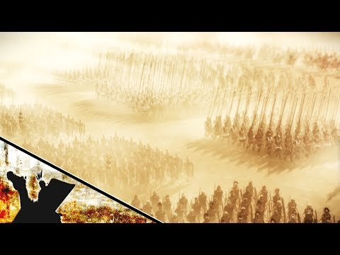 Epic Massive Battle 47000 Macedons Vs 150000 Persians ALEXANDER THE GREAT The Battle Of Gaugamela