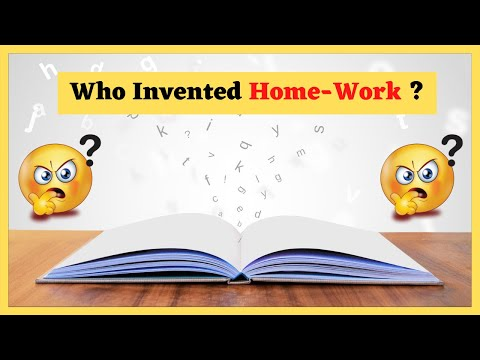 Who Invented Home-Work ? | Homework किसने Invent किया 🤔🤔 | Amazing Facts About Study | #Shorts