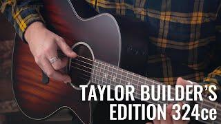 NAMM 2020: Taylor Builder's Edition 324ce Demo | Guitar.com