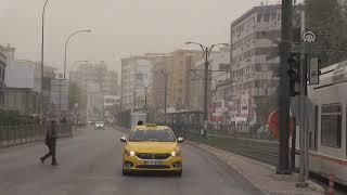 Gaziantep ve Şanlıurfa'da toz bulutu