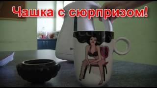 """Чашка с терморисунком """"Девушка"""""""