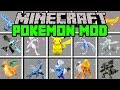 Minecraft POKEMON MOD! | CAPTURE NEW LEGENDARIES AND POKEMON! | Modded Mini-Game