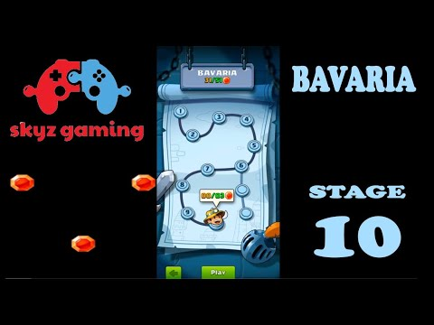 Diamond Quest Don't Rush Bavaria - All Gems Level 10 Boss Fight