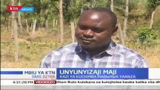 Wakulima wa Nyeri wazingatia unyunyizo wa maji