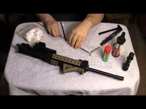Cleaning the LWRC AR-15 barrel