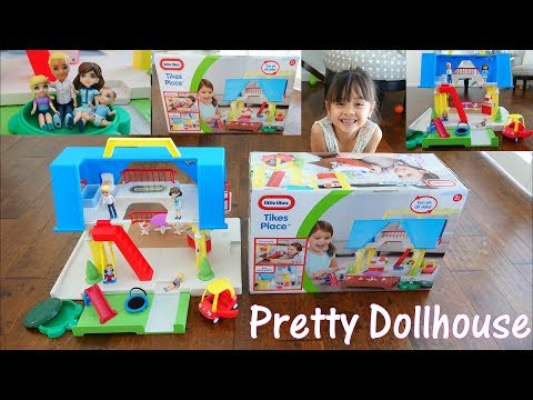 Family Dollhouse: Little Tikes' Tikes Place Dollhouse Playset Unboxing and Playtime. Toy Channel