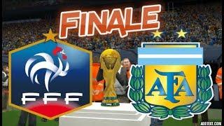 [HD] France vs Argentine Finale Coupe du Monde Russie 2018 #07 PES 2017