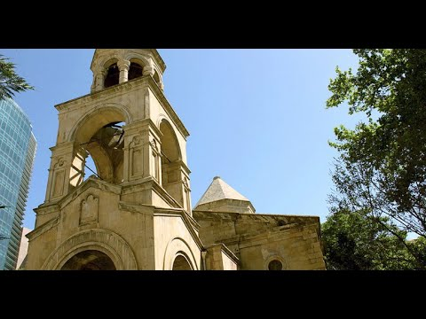 Bakıdakı Erməni Kilsəsindən ÖZƏL REPORTAJ - Армянская Церковь в Баку