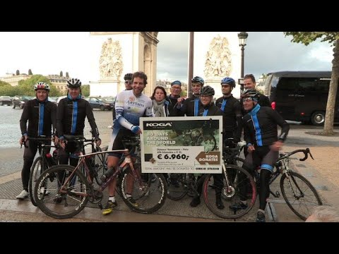 Cycling: Scotsman sets new record for world bike tour