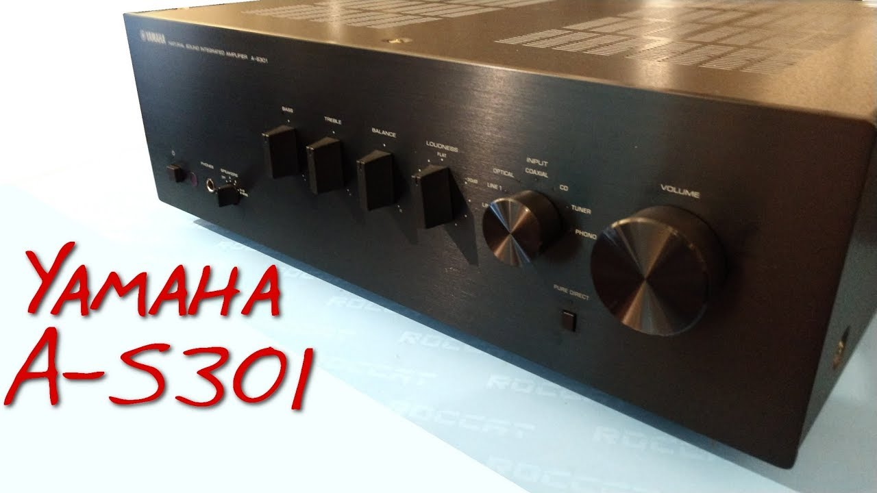 z review yamaha a s301 the return of real amp problems. Black Bedroom Furniture Sets. Home Design Ideas
