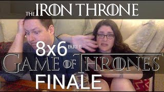 "Game of Thrones 8x6 - ""The Iron Throne"" REACTION Part 2"