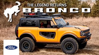 2021 Ford Bronco: OFFICIALLY REVEALED (Everything You Need To Know)