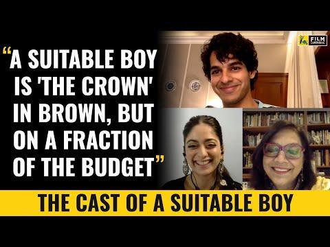Mira Nair, Ishaan Khatter & Tanya Maniktala Interview with Anupama Chopra | A Suitable Boy