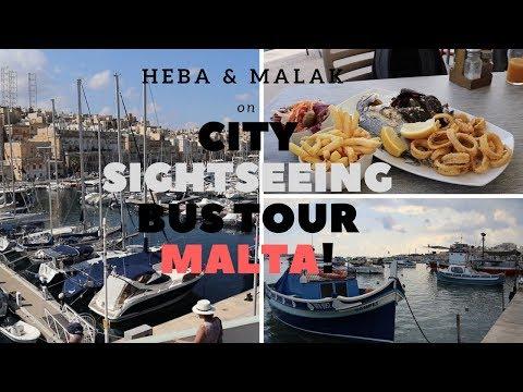CITY SIGHT SEEING... BUS TOUR MALTA