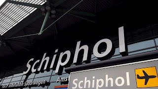 "В аэропорту ""Схипхол"" задержан мужчина с ножом"