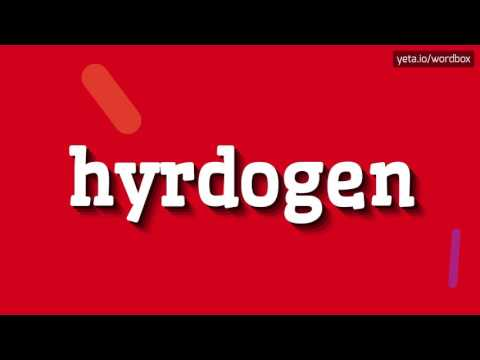 HYRDOGEN - HOW TO PRONOUNCE IT!?