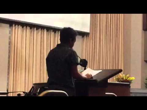 Tova Ricardo Oakland Poem: Oakland State Of The City