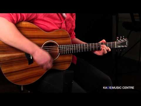 KAOS Gear Demo - Taylor GS Mini-e Koa FLTD