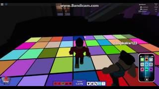 Roblox Rocitizens ICE dance club fun + EPIC MUSIC