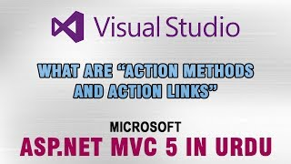 ASP.NET MVC 5 Tutorial In Urdu - What are Action Methods & Action Links