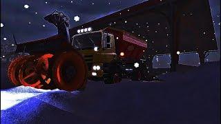 Farming simulator 2017 - a Lot of snow