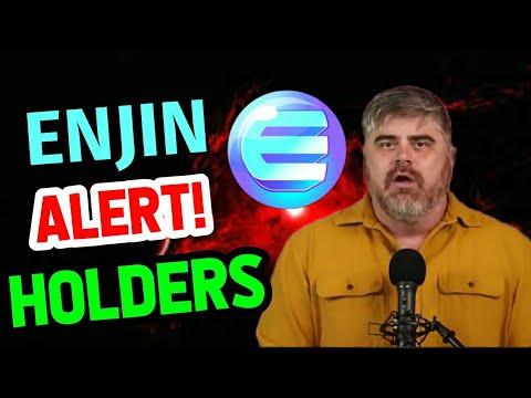 Enjin coin Alert!! Holders    Enjin coin price prediction    Enjin coin news today