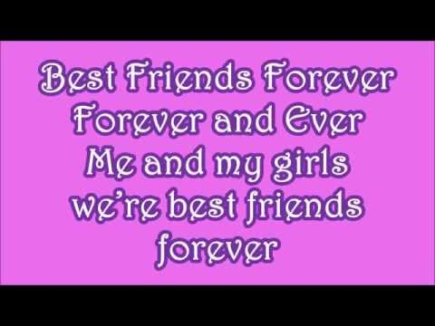 ☯♡✿Lego Friends~ Best Friends Forever Lyrics✿♡☯
