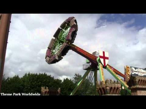 Excalibur 2 Off Ride HD Camelot Theme Park