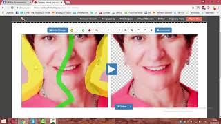 Онлайн - обрезка фото по контуру