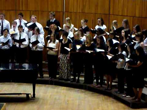 Elijah Rock (Jester Hairston) by University Chorus