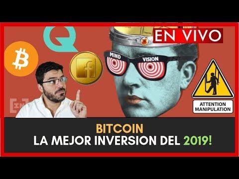 BITCOIN  LA MEJOR INVERSION DEL 2019!