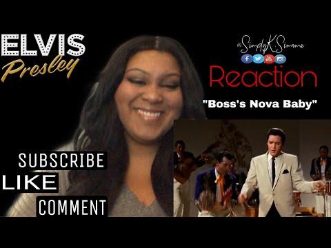 "Elvis Presley  -  "" Bossa Nova Baby""  (Reaction )"
