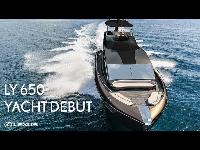 Lexus LY 650 Yacht: Global Debut