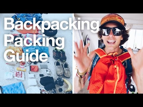 BACKPACKING Packing Guide | WHAT TO PACK For Southeast Asia - Thailand Cambodia Vietman Laos Bali