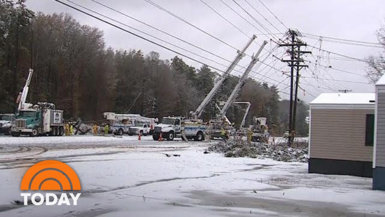 Thousands In South Without Power After Massive Storm   TODAY