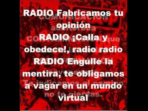 Ska-p Radio Falacia Con Letra