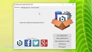 01 - Installing Bitnami Drupal Development Envioronment