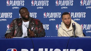 Steph Curry & Draymond Green Postgame Interview - Game 5 | Pelicans vs Warriors | 2018 NBA Playoffs