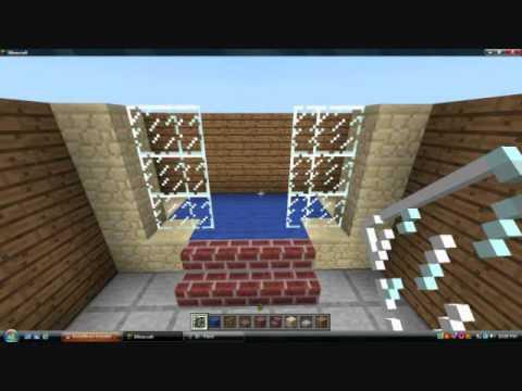 Minecraft Pe Tutorial 12 Bathroom 20