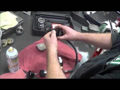 4 Stroke Engine Assembly   Radiator Testing   12 16 14