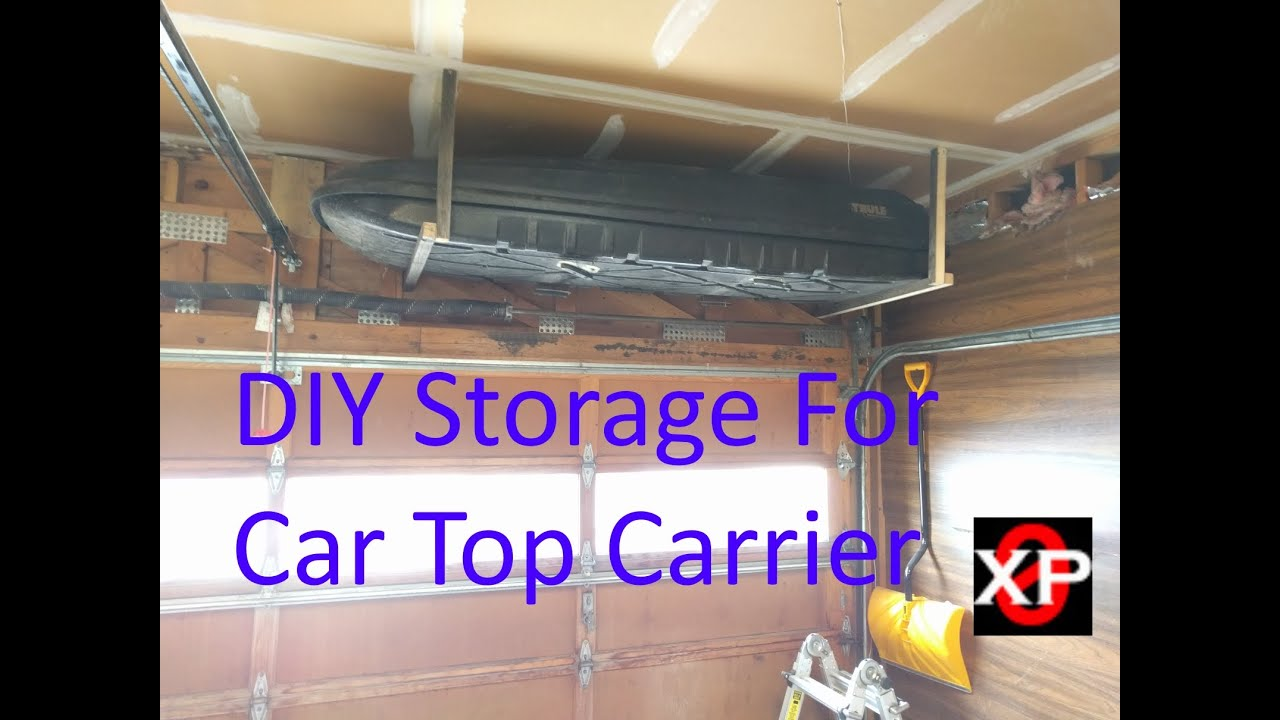 Ordinaire DIY Storage For Car Top Carrier