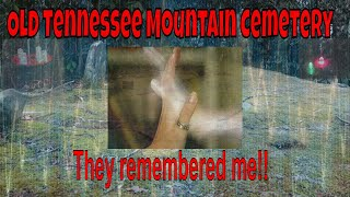 Old Tennessee Mountain Cemetery