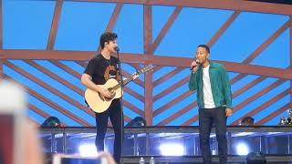 Shawn Mendes ft John Legend - Youth live (Global Citizen Festival 2018)
